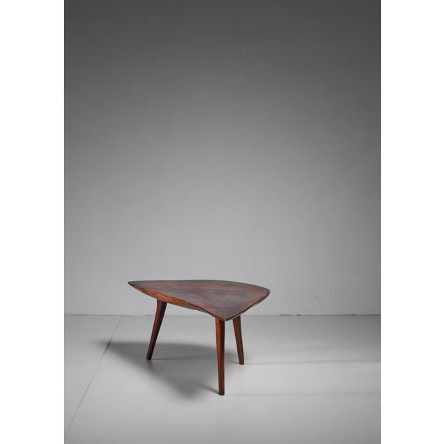 Emil Milan Emil Milan Freeform root wood coffee table, USA, 1960s For Sale - Image 4 of 9