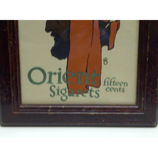 1903 Framed Journal Advertisement Orient Sigarets Fifteen Cents For Sale - Image 4 of 5