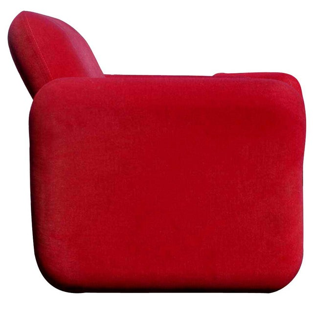 1970s 1 Herman Miller Ray Wilkes Chiclet Lounge Chair For Sale - Image 5 of 6