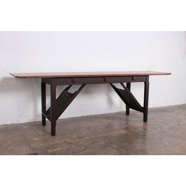 Dunbar Furniture Dunbar Console or Sofa Table by Edward Wormley For Sale - Image 4 of 11