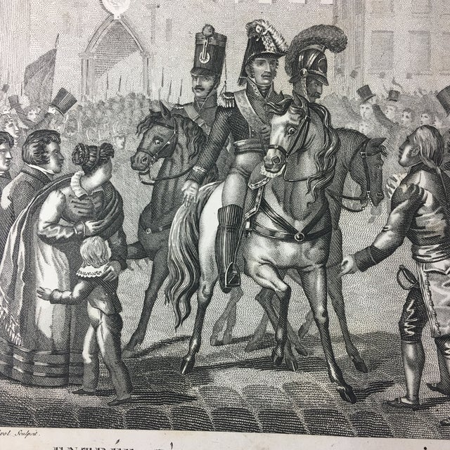 19th C. French Engraving - Image 5 of 7