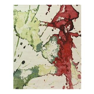 ModernArt - Vino Rug (10x14) For Sale