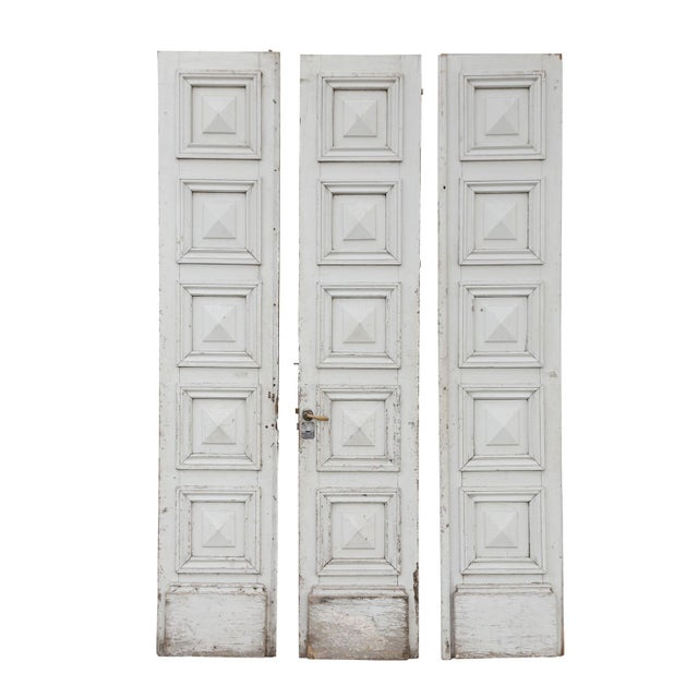 Three Antique French Doors For Sale - Image 10 of 11