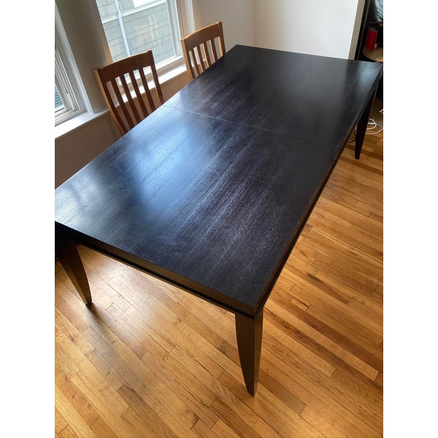 """2010s Crate and Barrel """"Portland"""" Dining Table For Sale - Image 5 of 8"""