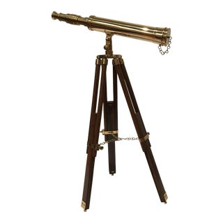 Authentic Models Tripod Mounted Telescope