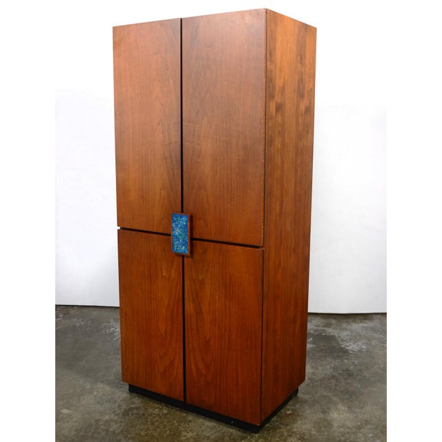 1960s Richard Thompson Stereo Cabinet or Bar by Glenn of California For Sale - Image 5 of 11