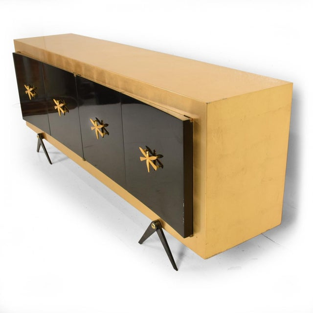 Mid-Century Mexican Modernist Credenza After Arturo Pani For Sale - Image 10 of 10