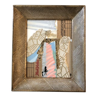 "Original Contemporary Collage Portal Series "" True Value"" by Judy Henn For Sale"