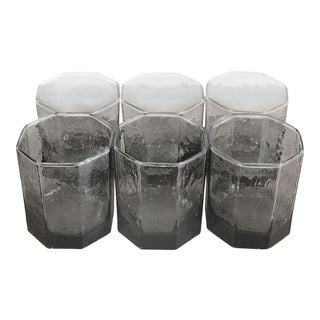 Octagon Glass Cups