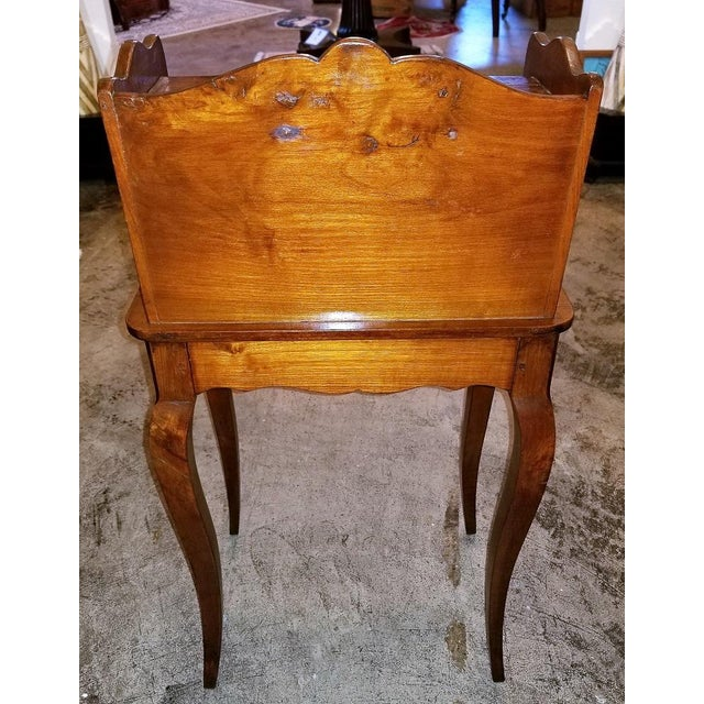 Late 18th Century 18th Century French Country Cherrywood Side Table For Sale - Image 5 of 10