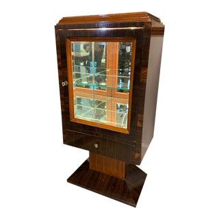 1930s Vintage Art Deco Display Cabinet For Sale