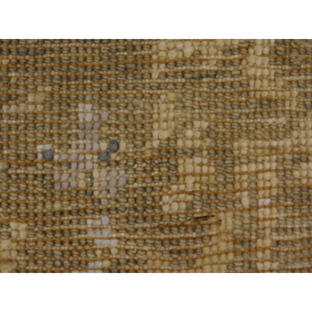 Hand Knotted Indian Wool and Silk Rug - 9'x 12' For Sale - Image 12 of 12