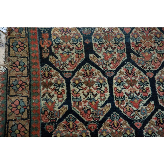 """Antique Fragment Northwest Persian Rug - 3'2"""" X 5' For Sale - Image 9 of 12"""
