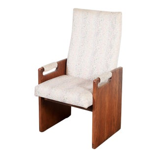 Mid Century Modern Lane Brutalist Arm Chair For Sale