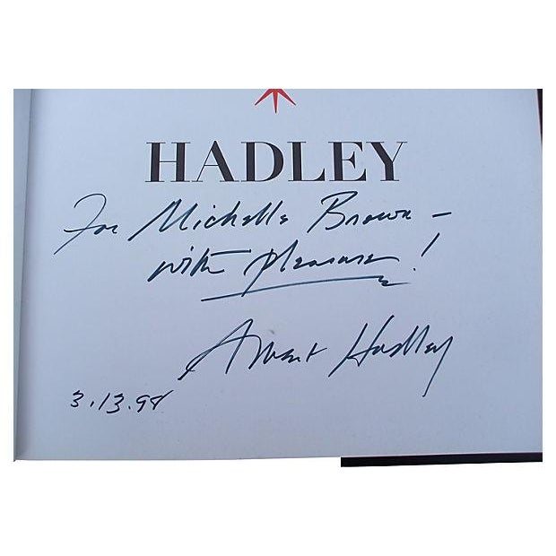 "First Edition Signed ""Parish-Hadley Sixty Years of American Design"" Book For Sale - Image 5 of 5"