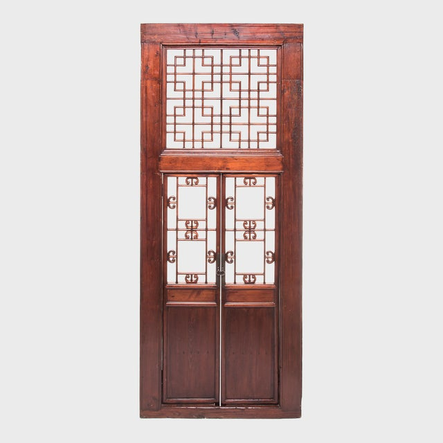 19th Century Chinese Lattice Doorway For Sale In Chicago - Image 6 of 6