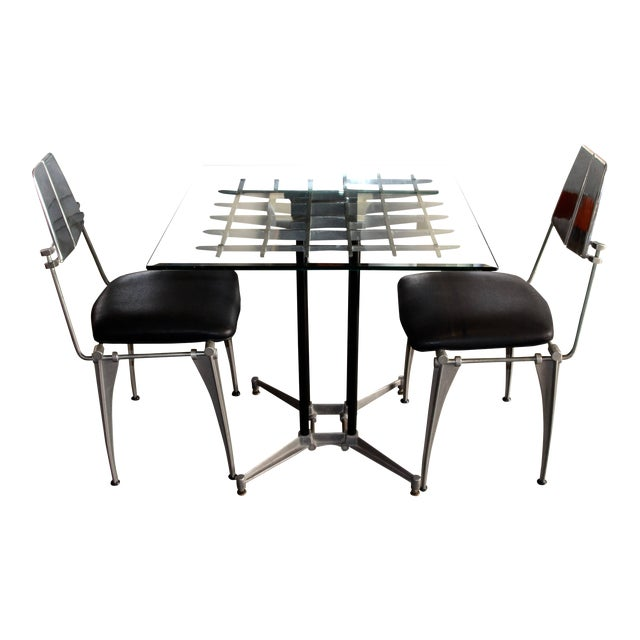 1970s Robert Josten Table & Chairs - Set of 3 For Sale