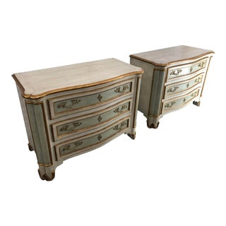 Dissen Fournier Dresser Chest of Drawers-a Pair For Sale