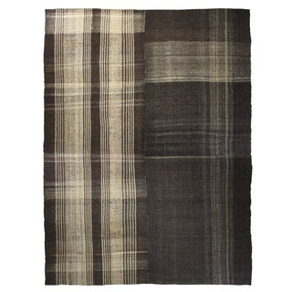 Contemporary Style Goat Hair Kilim - 11′ × 14′1″ For Sale