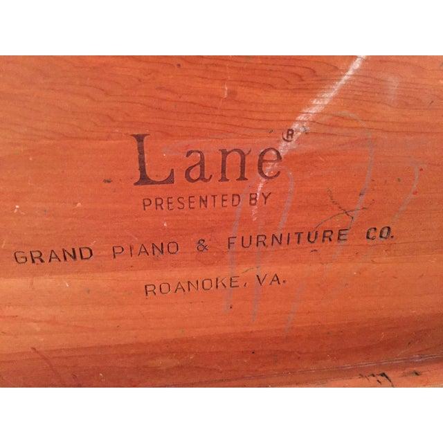 1980s Lane Cedar Handmade Wooden Box, 1980s For Sale - Image 5 of 9