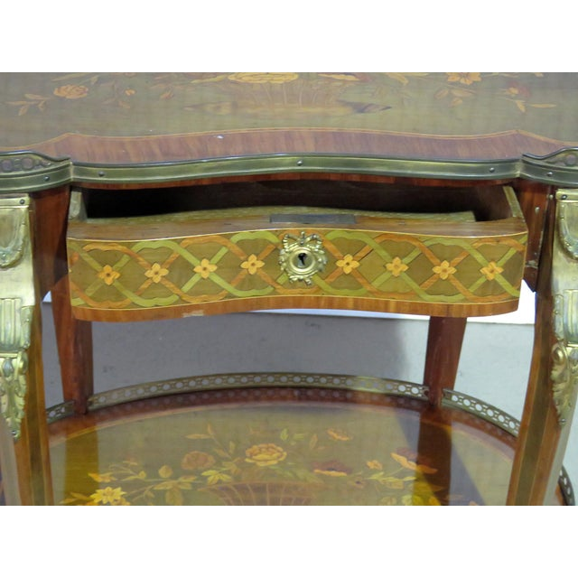 Early 20th Century Louis XV Style Accent Table Manner of Forest For Sale - Image 5 of 8