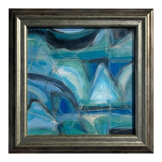 Beth Downey Abstracted Landscape Painting For Sale