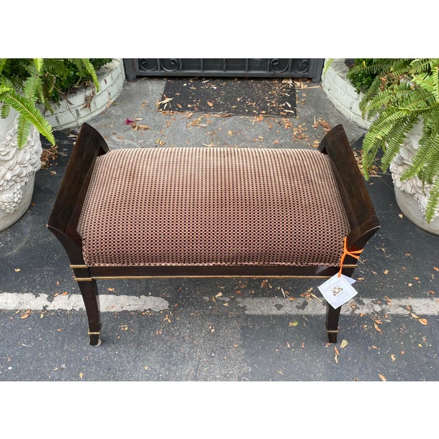 Elegant Sutton Place Designer Bench by Randy Esada Designs for Prospr