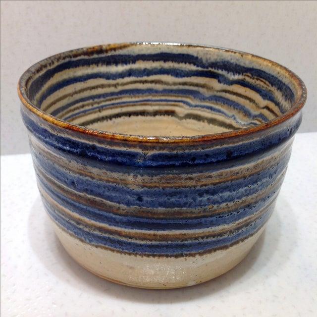 Vintage Handmade Pottery Bowl - Image 8 of 10