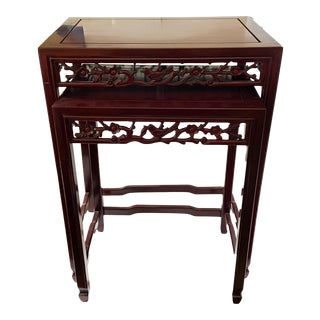 Asian Two Nesting Table For Sale