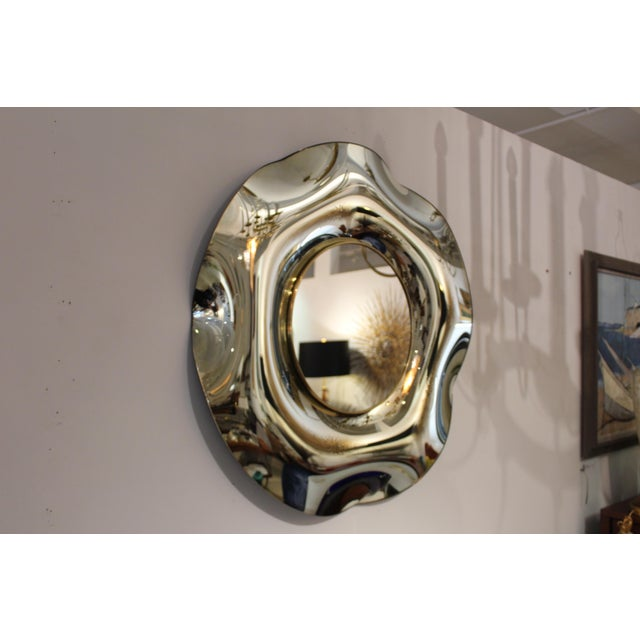Wave Italian Mirror by Ghiró Studio For Sale - Image 9 of 13