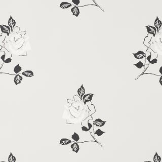 Sample - Schumacher Adele Wallpaper in Grisaille Preview