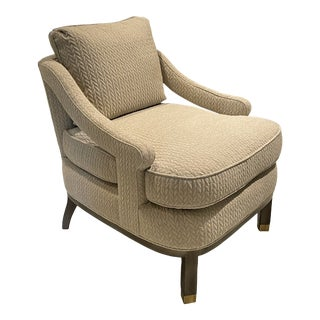 Highland House Atchison Slipper Chair For Sale