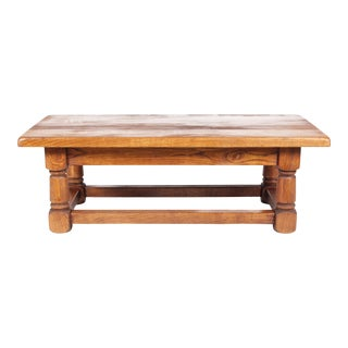 Mid-Century Monastery-Style Coffee Table For Sale