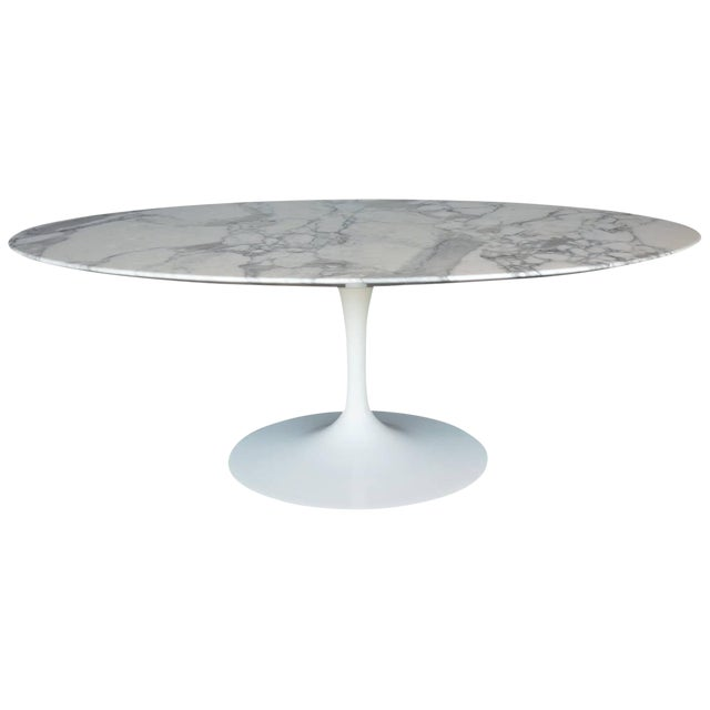 Marble-Top Coffee Table For Sale