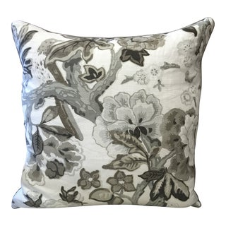 Ryan Studio Bermuda Blossoms Pillow For Sale