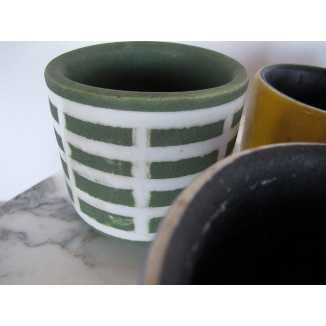 Ceramic Collection of Waylande Gregory Cups - Set of 18 For Sale - Image 7 of 10