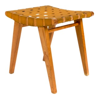 Early Jens Risom Stool for Hans G.Knoll For Sale