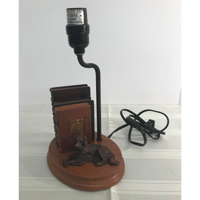 Dog and Book Collection Desk Lamp - Image 10 of 10