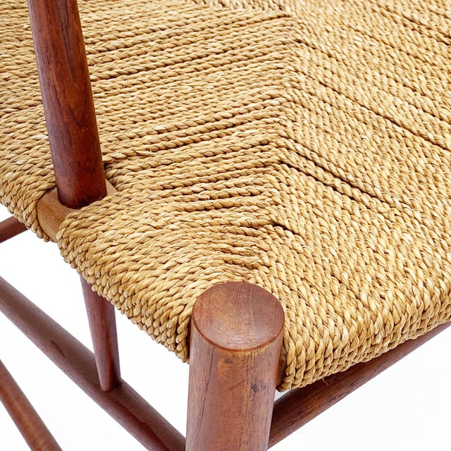 1960s 1960s Vintage Danish Teak Chair For Sale - Image 5 of 6