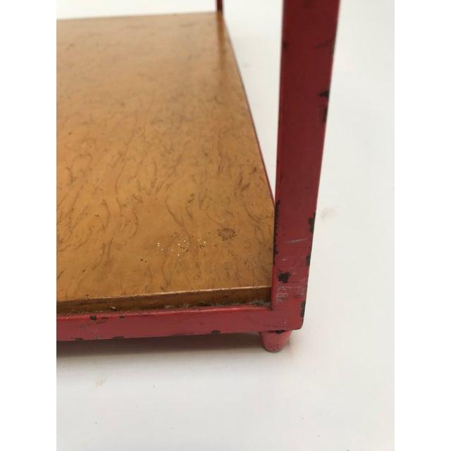 Dunbar Steel Frame Cocktail Table For Sale - Image 5 of 11