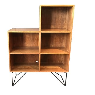 Luther Conover Hairpin Leg Bookshelf