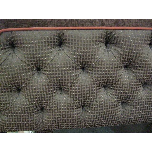 Custom Upholstered Full Size Headboards - Pair - Image 8 of 9