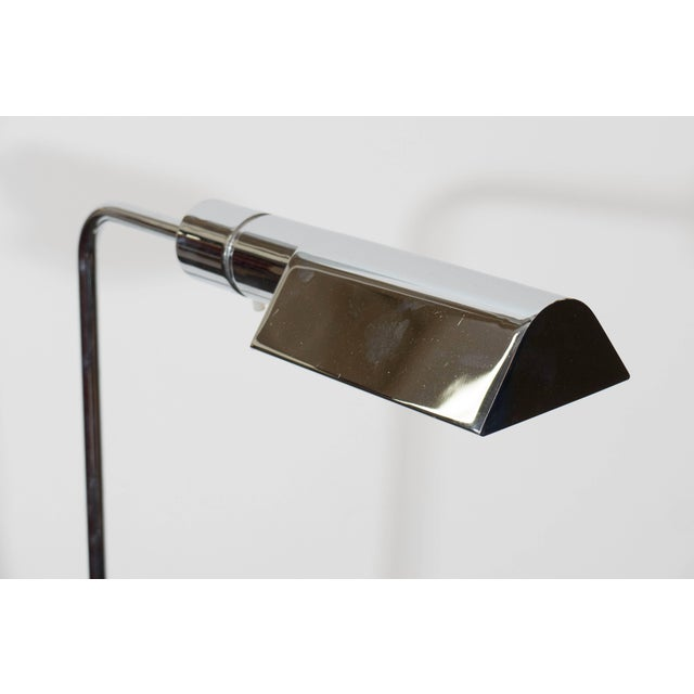 Casella Casella Adjustable Reading Floor Lamp in Chrome For Sale - Image 4 of 8