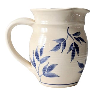 Signed Studio Pottery Pitcher For Sale
