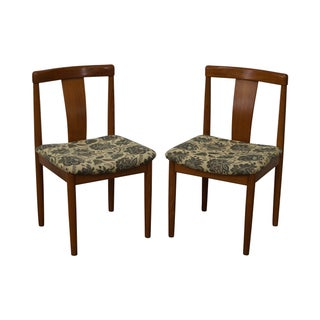 Vamdrup Stolefabrik Danish Dining Chairs - A Pair For Sale