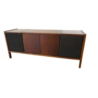 Mid-Century Modern Stereo Console
