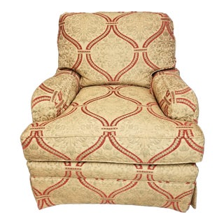 Taylor King Upholstered Armchair For Sale