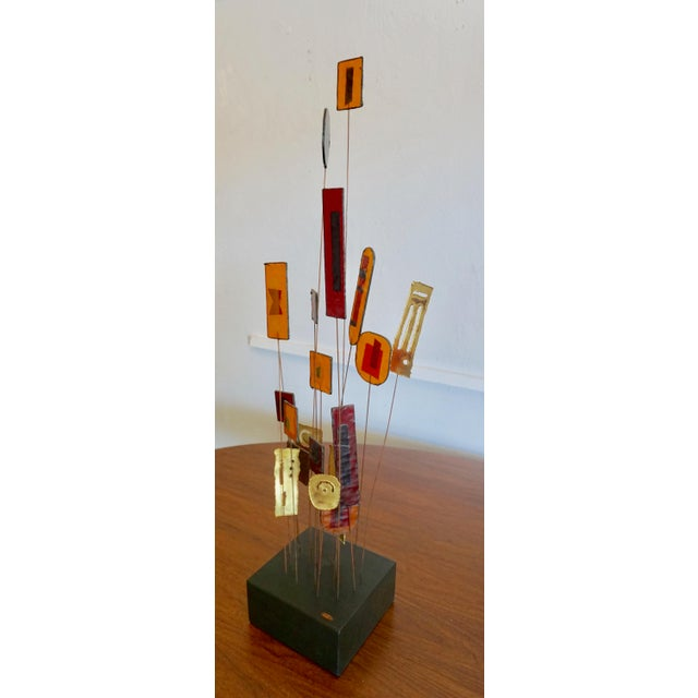 Abstract Kinetic Abstract Sculpture Bt Curtis Jere For Sale - Image 3 of 8
