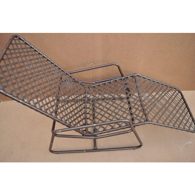 Late 20th Century Late 20th Century Vintage Brown Jordan Kantan Tamiami Tilt Lounge Chair For Sale - Image 5 of 10