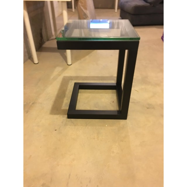Crate & Barrel Parsons End Table - Image 2 of 3